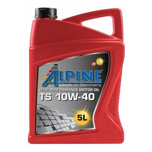 Полусинтетическое моторное масло ALPINE TS 10W-40, 5 л