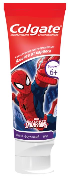 Зубная паста Colgate Детская Barbie,Spiderman для детей 6 + 75 мл PL06642A