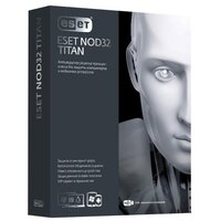 Коробочное программное обеспечение NOD32-EST-NS(BOX2)-1-1 ESET NOD32 TITAN version 2 – базовая лицензия на 1 год для 3ПК и 1 мобильного устройства - Программное обеспечение