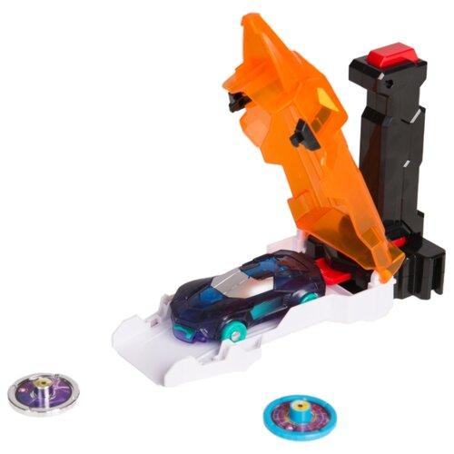 Интерактивная игрушка трансформер РОСМЭН Дикие Скричеры. Запускатели. Скричер-катапульта+машинка (35897/36573) оранжевый трансформер росмэн дикие скричеры турбо скричер 2 в 1 церберус 37761 красный