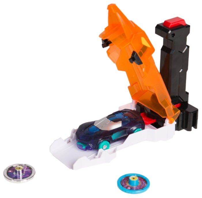 Интерактивная игрушка трансформер РОСМЭН Дикие Скричеры. Запускатели. Скричер-катапульта+машинка (35897/36573)