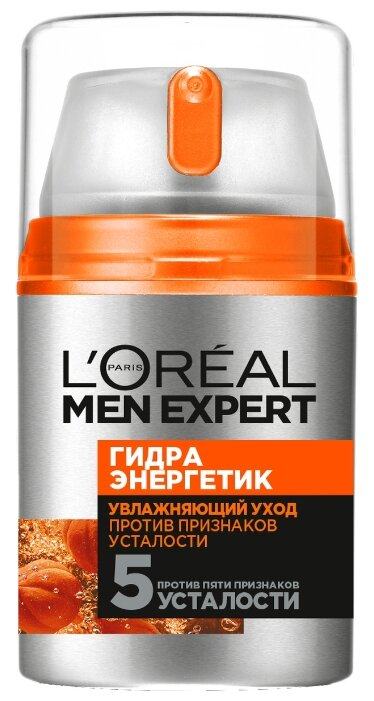 Гель для лица L'Oreal Paris Men Expert «Гидра Энергетик», 50 мл