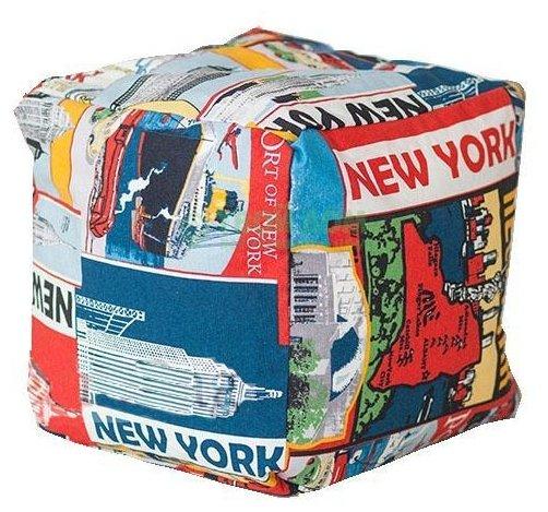 DreamBag пуфик New York разноцветный