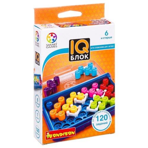 Головоломка BONDIBON Smart Games IQ-Блок (ВВ1354), Головоломки  - купить со скидкой