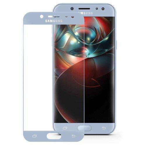 Купить Защитное стекло Mobius 3D Full Cover Premium Tempered Glass для Samsung Galaxy J5 2017 голубой
