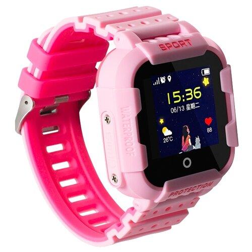 Детские умные часы c GPS Smart Baby Watch KT03 розовый детские умные часы c gps smart baby watch kt03 голубой синий