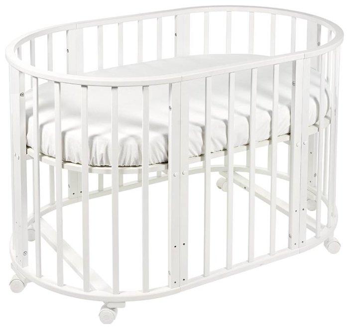 Кроватка Sweet Baby Delizia 8 в 1 (трансформер) Avorio (Слоновая кость)