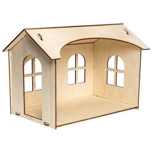 Купить Сборная модель IQ Format Кукольный домик для кукол LO! 1 этаж, Сборные модели