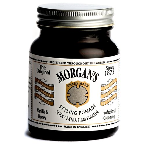 Фото - Morgan's Помада Styling Pomade Vanilla&Honey, экстрасильная фиксация, 100 г morgan s помада styling pomade slick extra firm hold экстрасильная фиксация 100 г