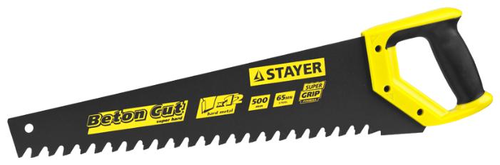 Ножовка по ячеистому бетону 500 мм STAYER Professional 2-15096