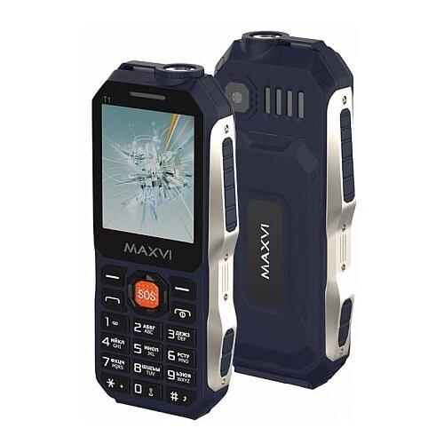 Купить Телефон MAXVI T1 синий