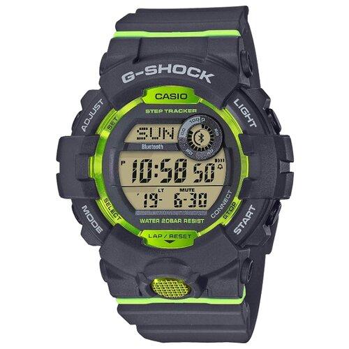 Часы CASIO G-SHOCK GBD-800-8E темно-серый/зеленыйУмные часы и браслеты<br>