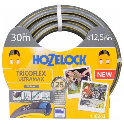 "Шланг HOZELOCK Tricoflex Ultramax 1/2"" 30 метров серый"