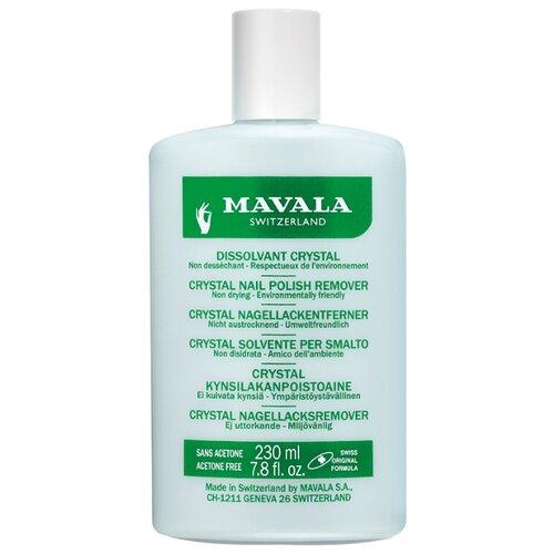 Mavala Жидкость для снятия лака профессиональная Кристал Nail Polish Remover Crystal 230 мл