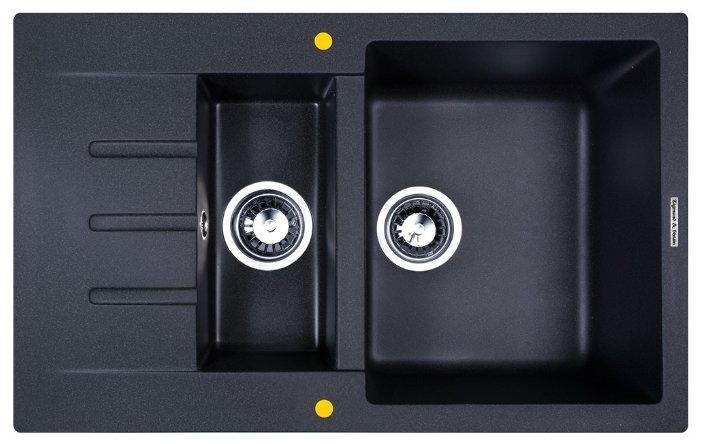 Врезная кухонная мойка Zigmund & Shtain RECHTECK 775.2