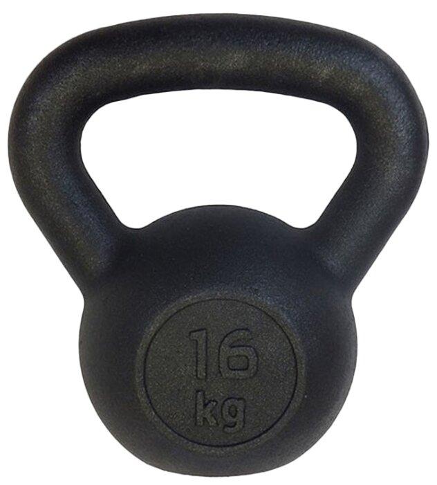 Гиря цельнолитая Euro classic чугунная 16 кг