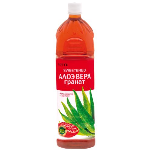 Напиток сокосодержащий LOTTE Aloe Vera Pomegranate, 1.5 л lotte 120