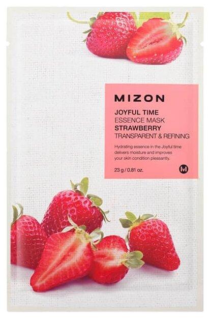 Mizon Joyful Time Essence Mask Strawberry тканевая маска с экстрактом клубники