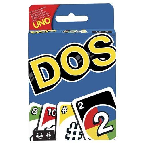 Фото - Настольная игра Mattel Uno Dos FRM36 настольная игра mattel uno w2087