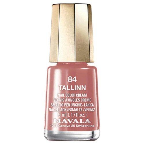 Лак Mavala Nail Color Cream, 5 мл, оттенок 84 Tallinn лак mavala nail color cream 5 мл оттенок 315 amethyst