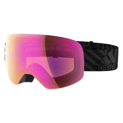 Маска adidas Backland Spherical Matt Black/Light Vario Purple Mirror