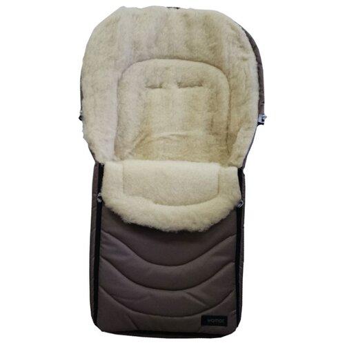 Купить Конверт-мешок Womar Black Frost в коляску 95 см 1/2 бежевый, Конверты и спальные мешки