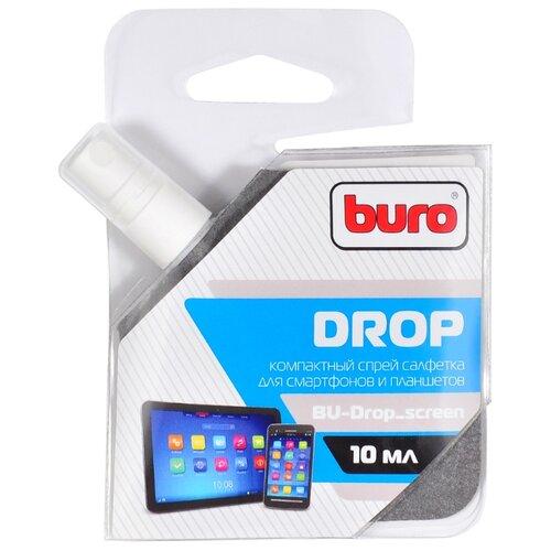 Фото - Buro BU-Drop_screen чистящий спрей для экрана, для ноутбука аккумулятор для ноутбука ibatt apple a1395 ib a405
