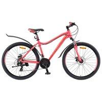 """Горный Велосипед Stels Miss 6000 26 Md (2019) V010 19"""" Красный"""