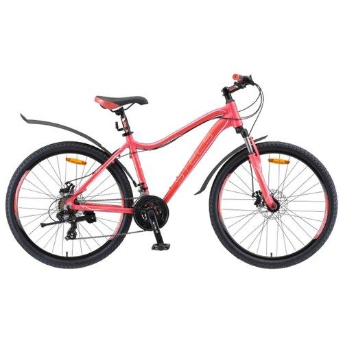 Горный (MTB) велосипед STELS Miss 6000 MD 26 V010 (2019) красный 19 (требует финальной сборки)