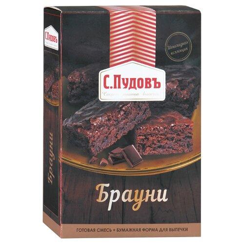С.Пудовъ Мучная смесь Брауни, 0.35 кгСмеси для выпечки<br>