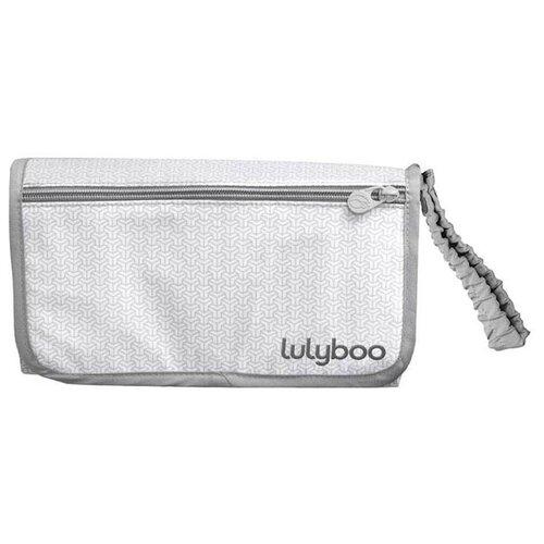 Купить Пеленальный матрас Lulyboo Клатч для мамы серый, Пеленальные столики и доски
