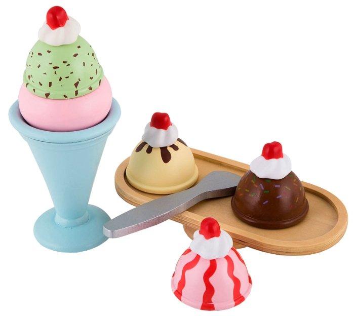 Набор продуктов с посудой KidKraft Мороженое 63281_KE