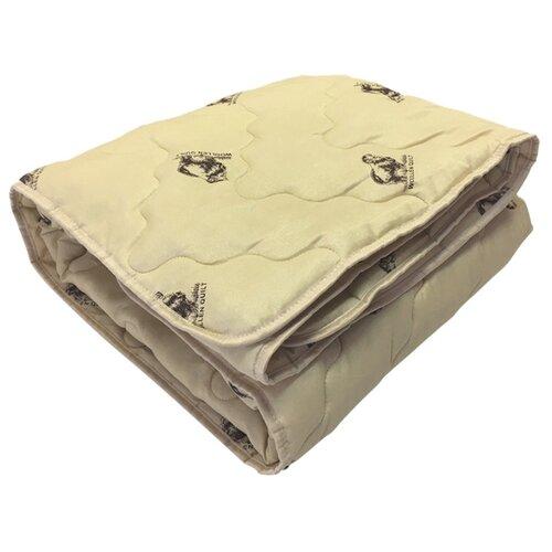 Одеяло OLTEX Miotex Овечья шерсть всесезонное, 140 х 205 см (набивной рисунок) одеяло облегченное iv20338 овечья шерсть микрофибра 1 5 спальный 140 205