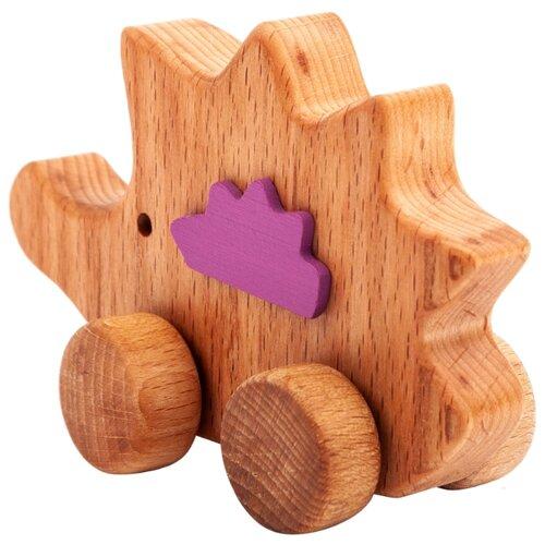 Купить Каталка-игрушка Волшебное дерево Ежик на колесах (54vd02-11) дерево, Каталки и качалки