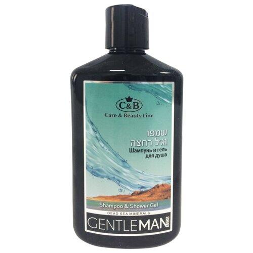 Шампунь и гель для душа Care & Beauty Line Gentleman 400 млДля душа<br>