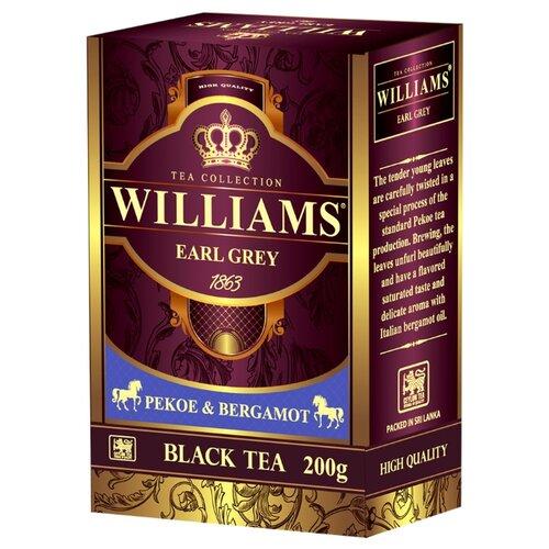Чай черный Williams Earl grey, 200 г