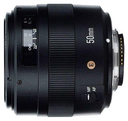 Объектив YongNuo 50mm f/1.4... — купить по выгодной цене на Яндекс.Маркете