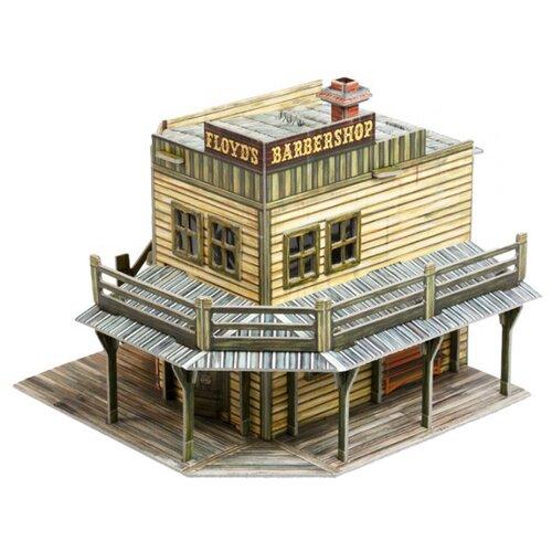 Сборная модель Умная Бумага Дикий Запад Барбершоп (447), Сборные модели  - купить со скидкой
