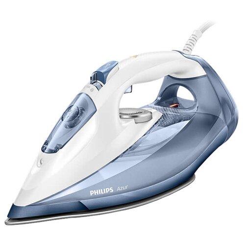 Утюг Philips GC4902/20 Azur синий/белый утюг philips gc 4939 00 azur advanced