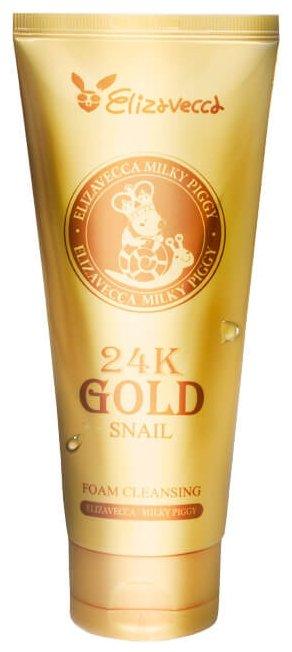 Elizavecca 24k Gold Snail пенка для умывания