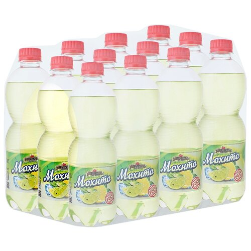 Газированный напиток Fruktomania Мохито, 0.5 л, 12 шт.Лимонады и газированные напитки<br>