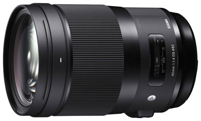 Sigma Объектив Sigma 40mm f/1.4 DG HSM Art Canon EF