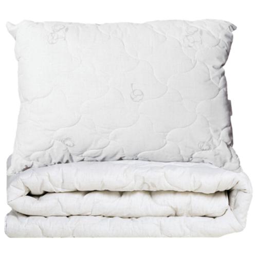 Одеяло Sortex Natura Хлопок белый/серый 200 х 220 смОдеяла<br>