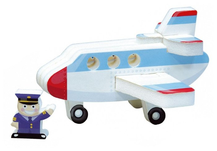 Сборная модель Умная Бумага Самолет (158-04),,