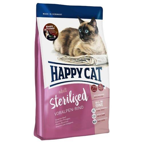 Корм для стерилизованных кошек Happy Cat Supreme с говядиной 4 кг
