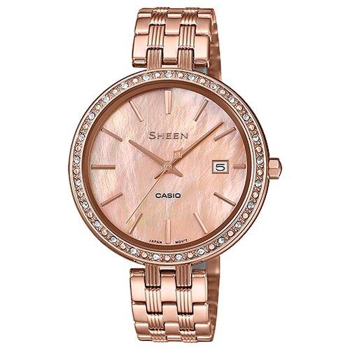 цена Наручные часы CASIO SHE-4052PG-4A онлайн в 2017 году