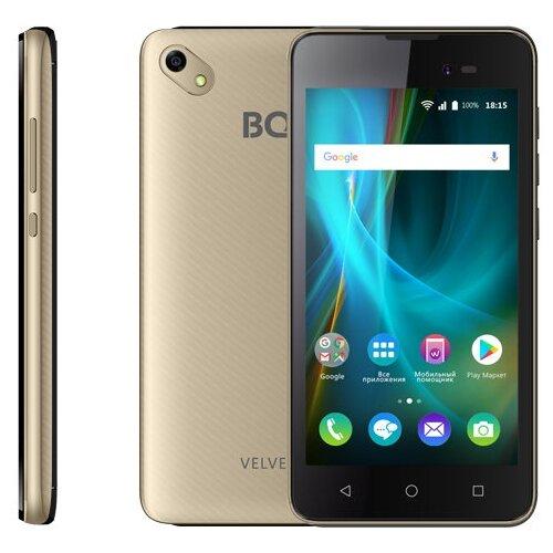 Смартфон BQ 5035 Velvet золотой смартфон