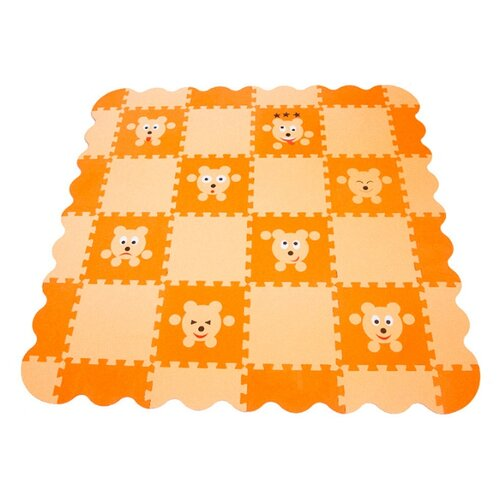 Купить Коврик-пазл ЭкоПолимеры Мишки (33МП2, 7/М), Игровые коврики