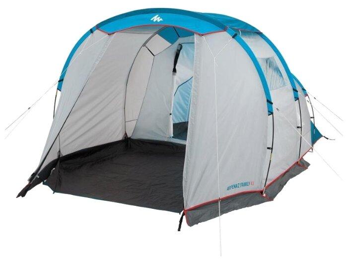 Палатка Quechua Arpenaz 4.1 — купить по выгодной цене на Яндекс.Маркете