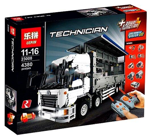 Электромеханический конструктор Lepin Technican 23008 Wing Body Truck